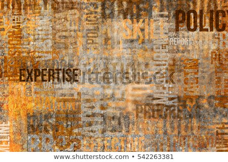 Stock photo: Innovation - Grunge Wordcloud.