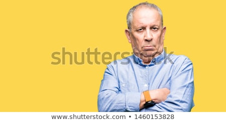 Scetticismo primo piano ritratto arrabbiato pazza infastidito Foto d'archivio © ichiosea