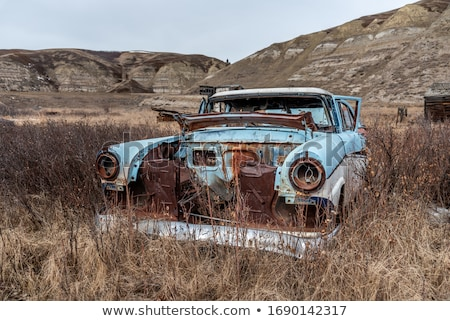 Abandoned old car Stock photo © Nejron