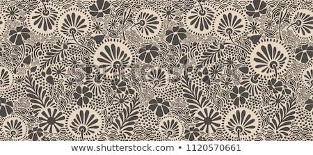 бесшовный · декоративный · цветочный · шаблон · клевера - Сток-фото © elenapro
