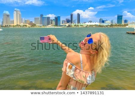smartphone flag of american state of california    Stock photo © vepar5
