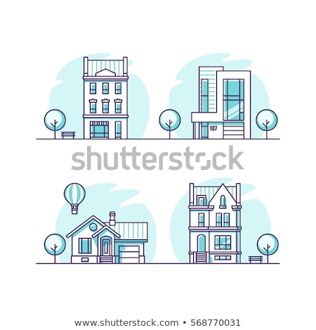 House, cottage – Real Estate vector illustrations stock photo © Mr_Vector