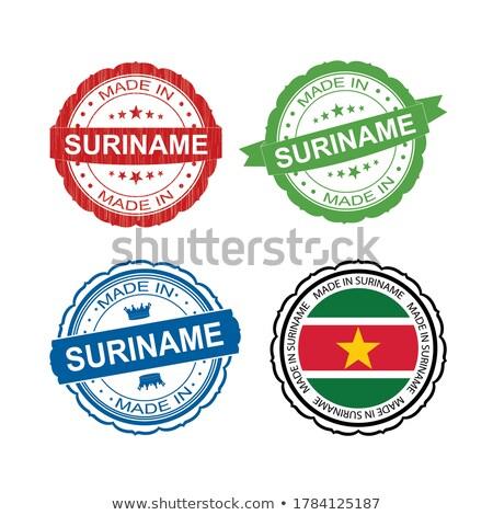 Суринам · карта · стране · рисунок - Сток-фото © tashatuvango