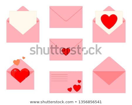 amour · lettres · printemps · design · chocolat · cadre - photo stock © serebrov