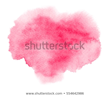 Rosa Wasserfarbe Ort Wasser Papier abstrakten Stock foto © gladiolus