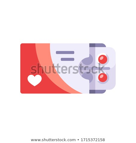 Cure for Hypertension - Blister Pack Tablets. Stock photo © tashatuvango