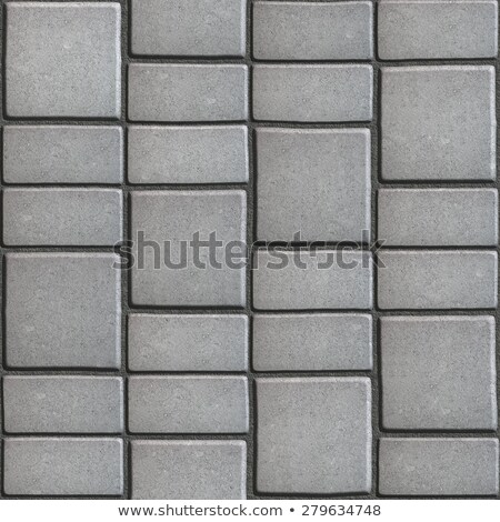 Gray Paving Slabs that Mimic Natural Stone.  Stock photo © tashatuvango