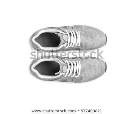 gray sneaker isolated Stock photo © shutswis
