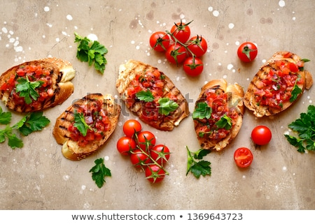 Bruschetta spicy Stock photo © Fotografiche