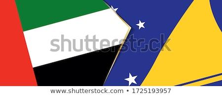 United Arab Emirates and Tokelau Flags Stock photo © Istanbul2009