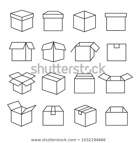 linha · ícone · isolado · branco · vetor - foto stock © rastudio