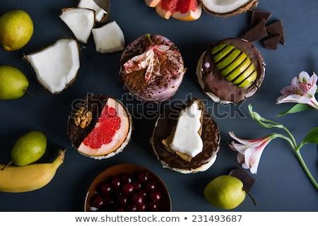 ミニ デザート 食品 甘い クッキー ジャム ストックフォト © Digifoodstock