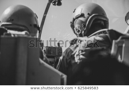 A fighterjet in the air Stock photo © bluering