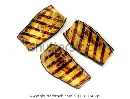 Roasted eggplants cooked Stock photo © mady70