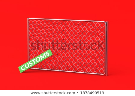 Taxes as plaque. 3d rendering Stock photo © alphaspirit