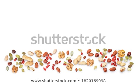 Various nuts Stock photo © racoolstudio