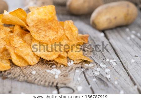 taze · patates · beyaz · gıda · kırmızı - stok fotoğraf © mady70
