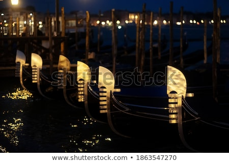 Anchored gondola Stock photo © t3mujin