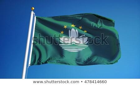Internationale vlaggen blauwe hemel business hemel schoonheid Stockfoto © Nobilior