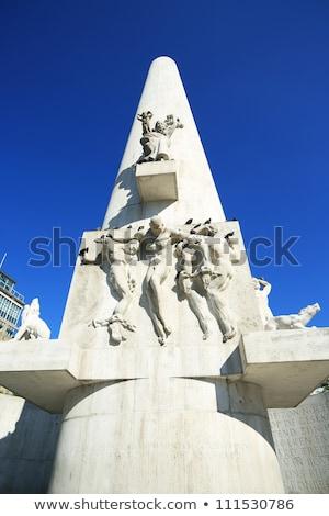Mondo guerra piazza Holland scultore quattro Foto d'archivio © billperry