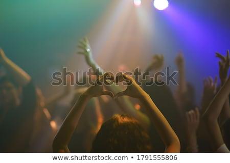 Wydajność grupy nightclub etapie kobieta Zdjęcia stock © wavebreak_media