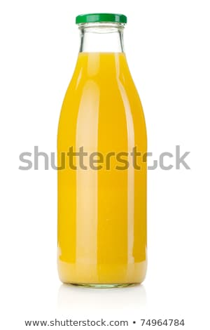 vol · glas · sinaasappelsap · witte · achtergrond · oranje - stockfoto © digifoodstock