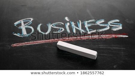 Мир экономики доске служба зеленый текста Сток-фото © tashatuvango