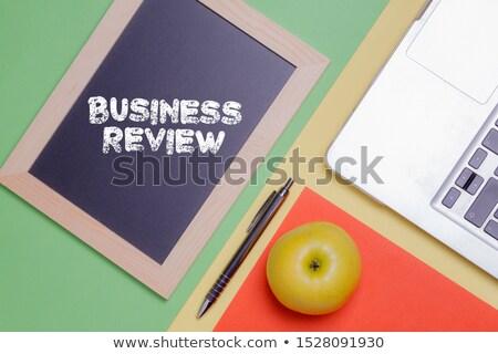 Encontrar Trabajo dibujado a mano verde pizarra moderna Foto stock © tashatuvango