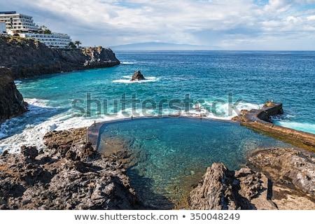 natural swimming pools on Tenerife island Stock photo © svetography