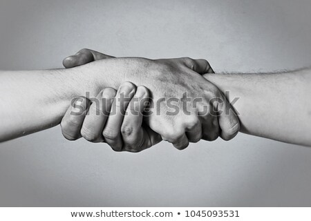Man Religion Hold Hands Stock photo © lenm