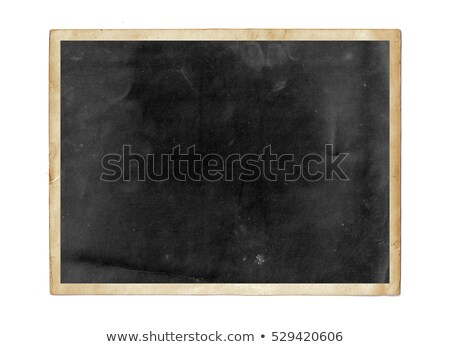 Old Photo Frame With White Background Stock photo © cammep