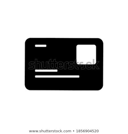 паспорта деньги плакат иконки коллекция заголовок Сток-фото © robuart