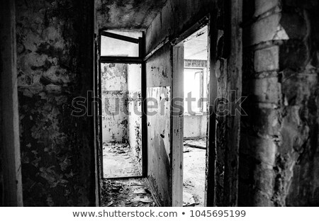 Lost city. The interior of an abandoned construction.  Stock photo © Nobilior