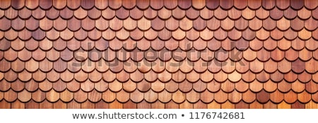 Wood shingle backdrop Stock photo © Zerbor
