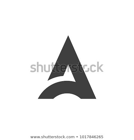 Logotípus logo levél vektor szimbólum ikon Stock fotó © blaskorizov