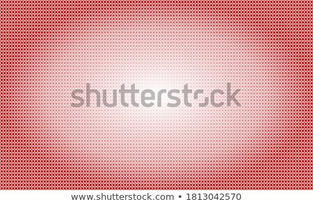 Red Letter A with Honeycomb Pattern Vector Illustration Stock photo © cidepix