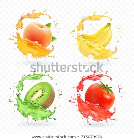 sinaasappelsap · vers · afbeelding · witte · geïsoleerd - stockfoto © conceptcafe