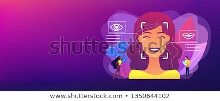 Emotion detection concept banner header. Stock photo © RAStudio