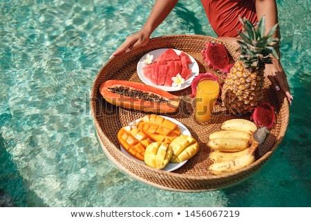 Obiad plaży ryb morza piękna ocean Zdjęcia stock © winnond