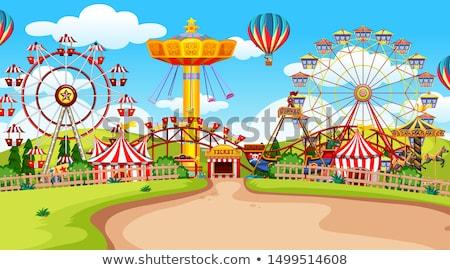 Fun fair amusement park empty Stock photo © bluering
