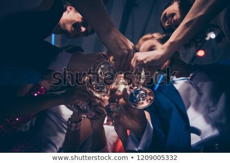 мнение друзей пить очки Сток-фото © wavebreak_media