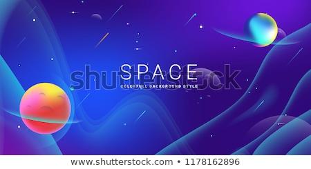 De kosmische ruimte textuur wetenschap kunst communie Stockfoto © NASA_images