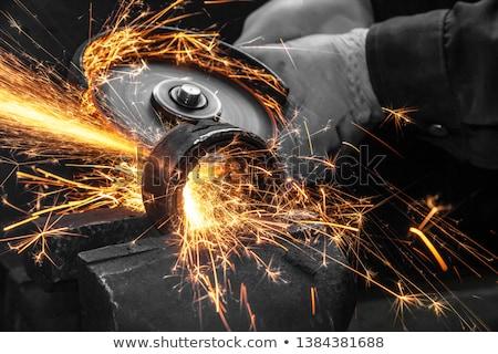 circular saw in close up stock photo © gewoldi