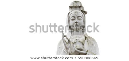 Marble Quan Yin Statue Stock photo © pinkblue