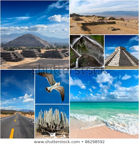 Collage of Mexico images Stock photo © dmitry_rukhlenko