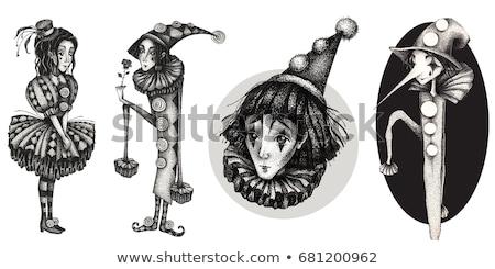 Harlequin and Colombina Stock photo © zakaz