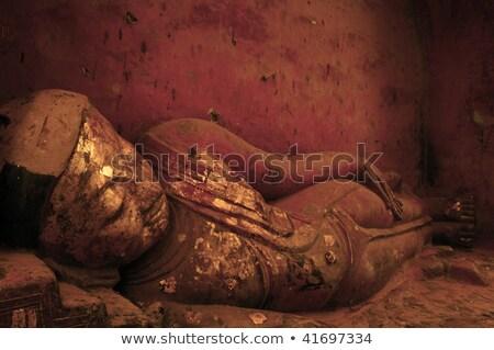 Buda · el · Tayland · gökyüzü · ağaç · Bina - stok fotoğraf © smithore