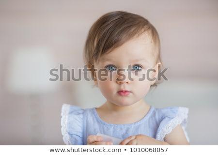 baby girl with pacifier  Stock photo © dacasdo