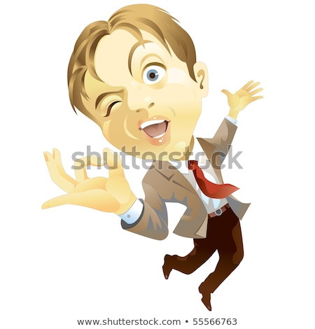 businessman leaping through the air stock photo © photography33