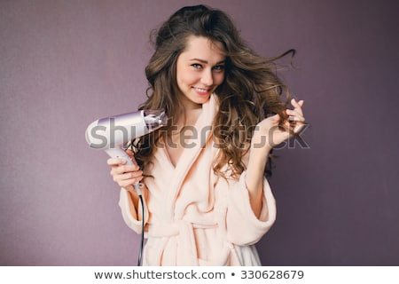 woman with hair dryer Stock photo © photography33